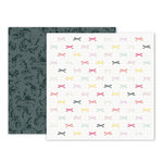Pink Paislee - Take Me Away Collection - 12 x 12 Double Sided Paper - 23