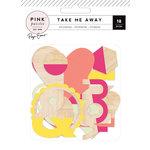 Pink Paislee - Take Me Away Collection - Wood Veneer Shapes