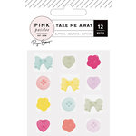 Pink Paislee - Take Me Away Collection - Buttons