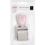 Pink Paislee - Take Me Away Collection - Roller Stamp