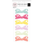 Pink Paislee - Take Me Away Collection - Bows - Suede
