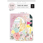 Pink Paislee - Take Me Away Collection - Ephemera with Foil Accents