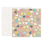 Pink Paislee - Birthday Bash Collection - 12 x 12 Double Sided Paper - Paper 06