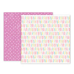 Pink Paislee - Birthday Bash Collection - 12 x 12 Double Sided Paper - Paper 07