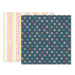 Pink Paislee - Birthday Bash Collection - 12 x 12 Double Sided Paper - Paper 08