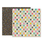 Pink Paislee - Birthday Bash Collection - 12 x 12 Double Sided Paper - Paper 09