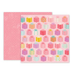 Pink Paislee - Birthday Bash Collection - 12 x 12 Double Sided Paper - Paper 12