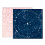 Pink Paislee - Moonstruck Collection - 12 x 12 Double Sided Paper - Paper 05