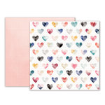 Pink Paislee - Moonstruck Collection - 12 x 12 Double Sided Paper - Paper 06