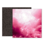 Pink Paislee - Moonstruck Collection - 12 x 12 Double Sided Paper - Paper 07