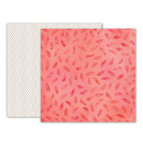 Pink Paislee - Moonstruck Collection - 12 x 12 Double Sided Paper - Paper 12