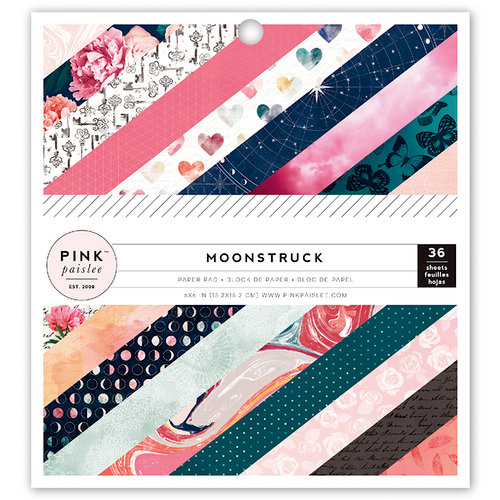 Pink Paislee - Moonstruck Collection - 6 x 6 Paper Pad