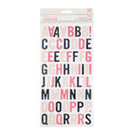 Pink Paislee - Moonstruck Collection - Thickers - Alpha - Chipboard