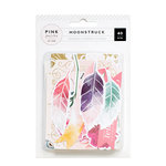 Pink Paislee - Moonstruck Collection - Ephemera with Foil Accents