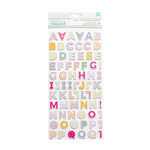Pink Paislee - Oh My Heart Collection - Thickers - Sunshine - Alpha - Chipboard