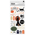 Pink Paislee - Spellcast Collection - Halloween - Thickers - Icon - Gold Foil