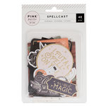 Pink Paislee - Spellcast Collection - Halloween - Ephemera with Foil Accents