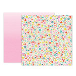 Pink Paislee - Turn The Page Collection - 12 x 12 Double Sided Paper - Paper 18