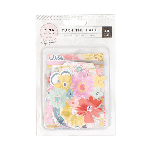 Pink Paislee - Turn The Page Collection - Ephemera with Foil Accents