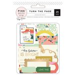 Pink Paislee - Turn The Page Collection - Journaling Spots