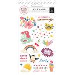 Pink Paislee - Wild Child Collection - Rub Ons - Girl