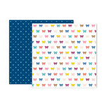 Pink Paislee - Pick Me Up Collection - 12 x 12 Double Sided Paper - Paper 3