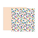 Pink Paislee - Pick Me Up Collection - 12 x 12 Double Sided Paper - Paper 6