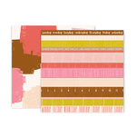 Pink Paislee - Pick Me Up Collection - 12 x 12 Double Sided Paper - Paper 12