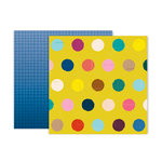 Pink Paislee - Pick Me Up Collection - 12 x 12 Double Sided Paper - Paper 15