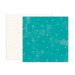 Pink Paislee - Pick Me Up Collection - 12 x 12 Double Sided Paper - Paper 22