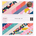 Pink Paislee - Pick Me Up Collection - 6 x 6 Paper Pad with Foil Accents