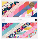 Pink Paislee - Pick Me Up Collection - 12 x 12 Paper Pad with Foil Accents