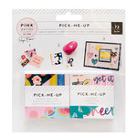 Pink Paislee - Pick Me Up Collection - 2 x 2 Paper Pad - Swatch Book