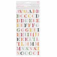 Pink Paislee - Pick Me Up Collection - Thickers - Printed Chipboard - Alpha - Lemonade