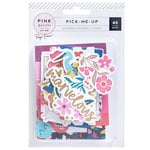 Pink Paislee - Pick Me Up Collection - Ephemera with Foil Accents