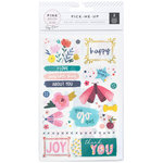 Pink Paislee - Pick Me Up Collection - Rub Ons