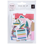 Pink Paislee - Pick Me Up Collection - Journaling Spots with Foil Accents
