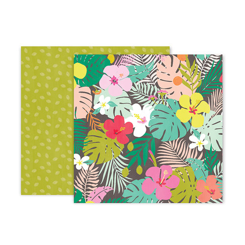 Pink Paislee - Confetti Wishes Collection - 12 x 12 Double Sided Paper - Paper 8