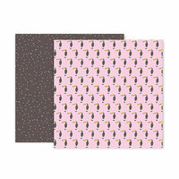 Pink Paislee - Confetti Wishes Collection - 12 x 12 Double Sided Paper - Paper 11