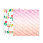 Pink Paislee - Confetti Wishes Collection - 12 x 12 Double Sided Paper - Paper 12