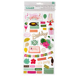 Pink Paislee - Confetti Wishes Collection - Thickers - Icon