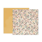 Pink Paislee - Auburn Lane Collection - 12 x 12 Double Sided Paper - Paper 10