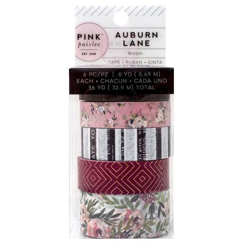 Pink Paislee - Auburn Lane Collection - Washi Rolls