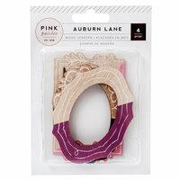 Pink Paislee - Auburn Lane Collection - Wood Veneer Frames