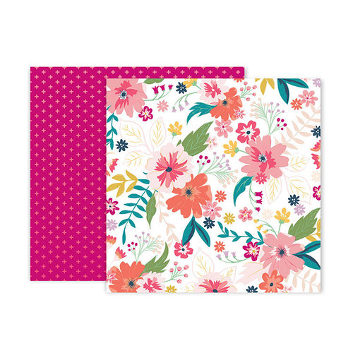 Pink Paislee - Whimsical Collection - 12 x 12 Double Sided Paper - Paper 3