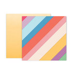 Pink Paislee - Whimsical Collection - 12 x 12 Double Sided Paper - Paper 10