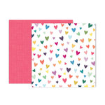 Pink Paislee - Whimsical Collection - 12 x 12 Double Sided Paper - Paper 11