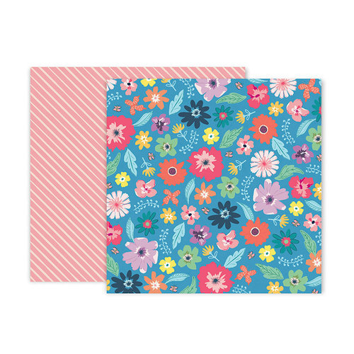 Pink Paislee - Whimsical Collection - 12 x 12 Double Sided Paper - Paper 14