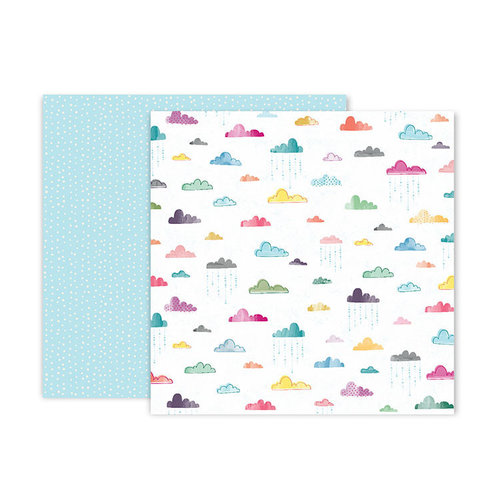 Pink Paislee - Whimsical Collection - 12 x 12 Double Sided Paper - Paper 15