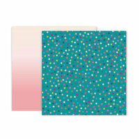 Pink Paislee - Whimsical Collection - 12 x 12 Double Sided Paper - Paper 17